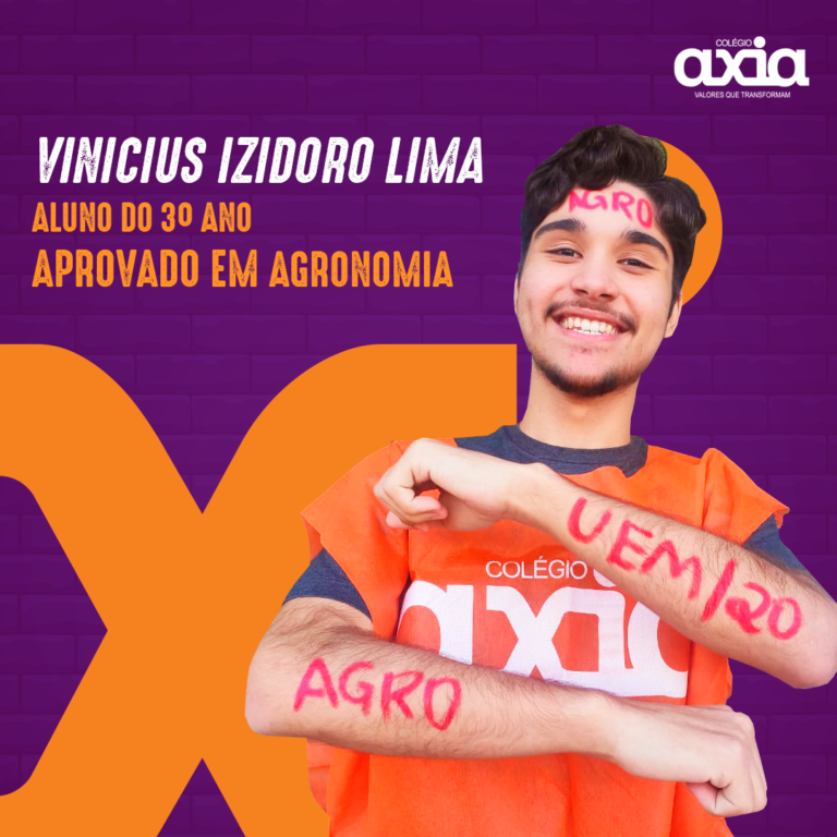 Vinicius Izidoro Lima – 3º Agronomia UEM