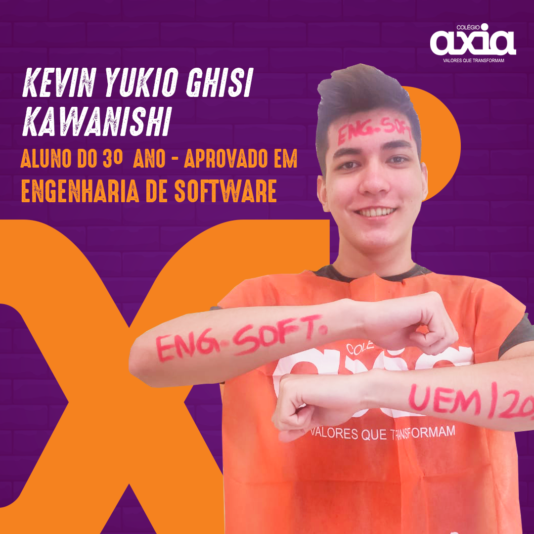 Kevin Yukio Ghisi Kawanishi – 3º Engenharia de Software UEM