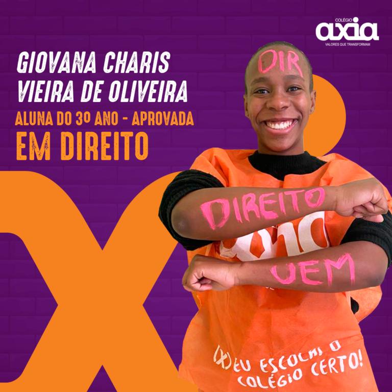 Giovana Charis Vieira De Oliveira – 3º Direito UEM