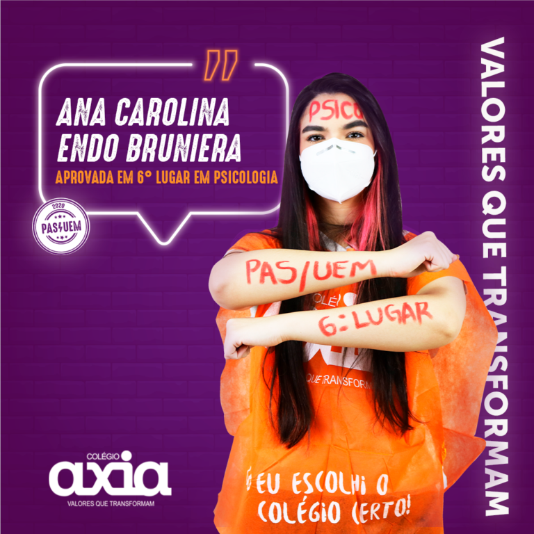 Ana Carolina Endo Bruniera – 6º Psicologia UEM