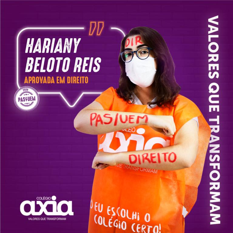 Hariany Beloto Reis – Direito UEM